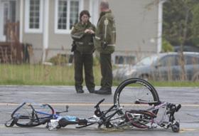 Trois cyclistes tués par un chauffeur endormi au volant