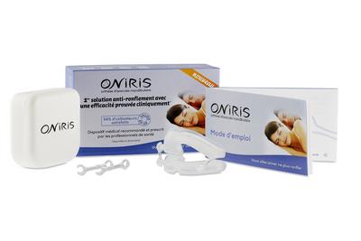 orthèse d'avancement mandibulaire Oniris pour ronfleent et apnée du sommeil