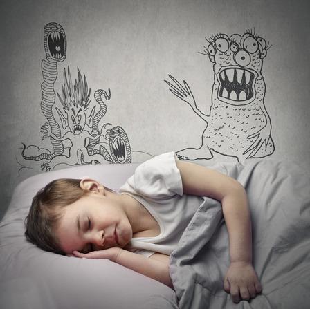 Cauchemar et terreur nocturne chez les enfants